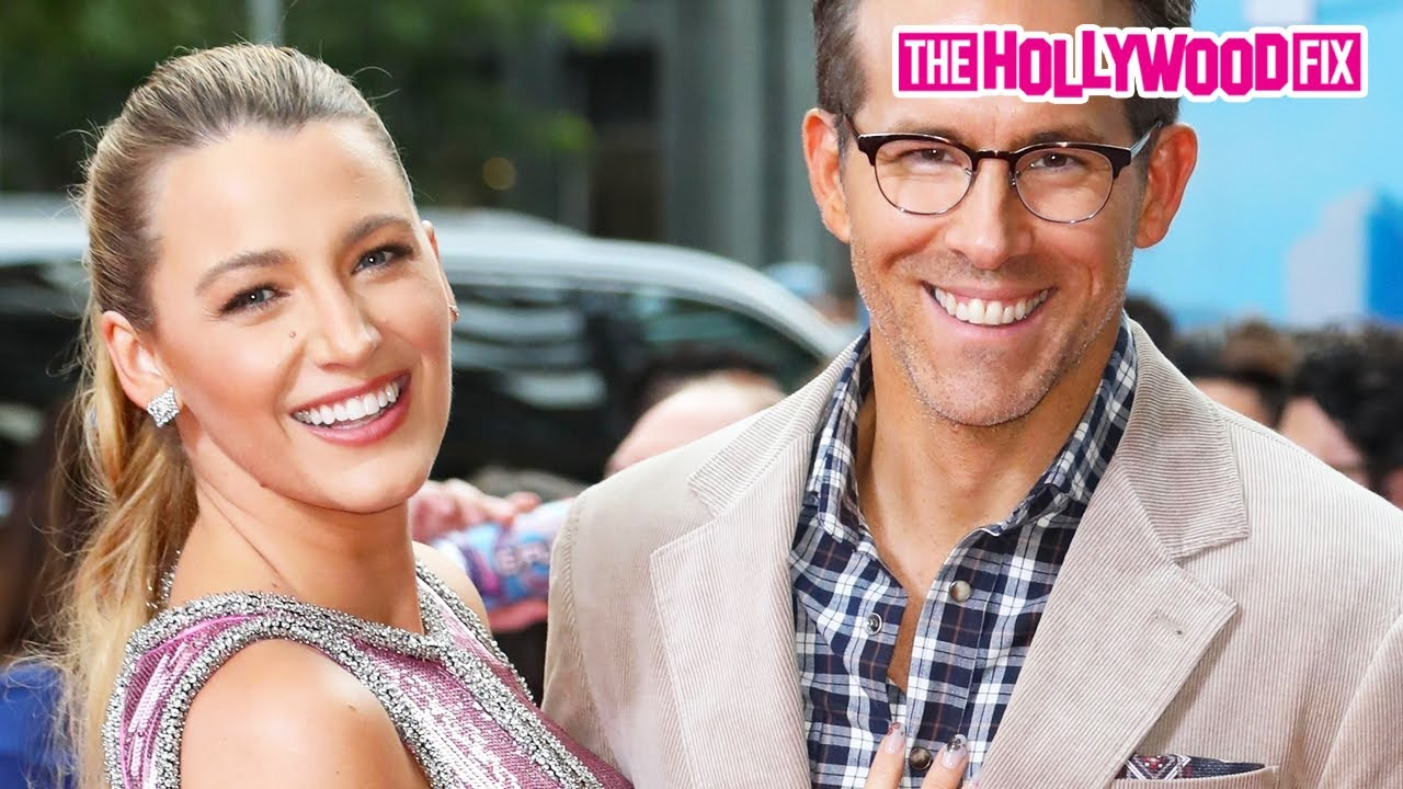 Ryan Reynolds & Blake Lively Attend The 'Free Guy' Movie Premiere & Almost Kiss On The Red Carpet