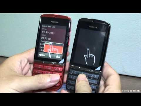 Khui hộp Nokia Asha 300 - www.mainguyen.vn