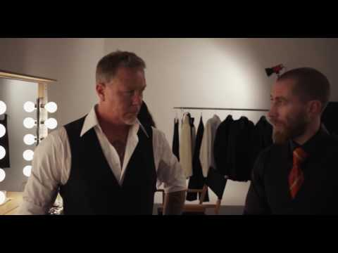 The Making of Brioni with Metallica Campaign: James
