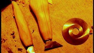 косяк и топорик из фрезы.  Резаки своими руками  Инструмент для резьбы по дереву