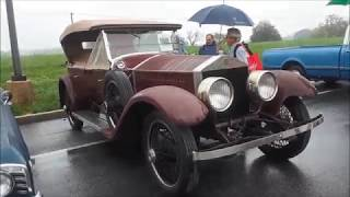 A Walk About A 1924 Rolls Royce Silver Ghost Built In Springfield, MA