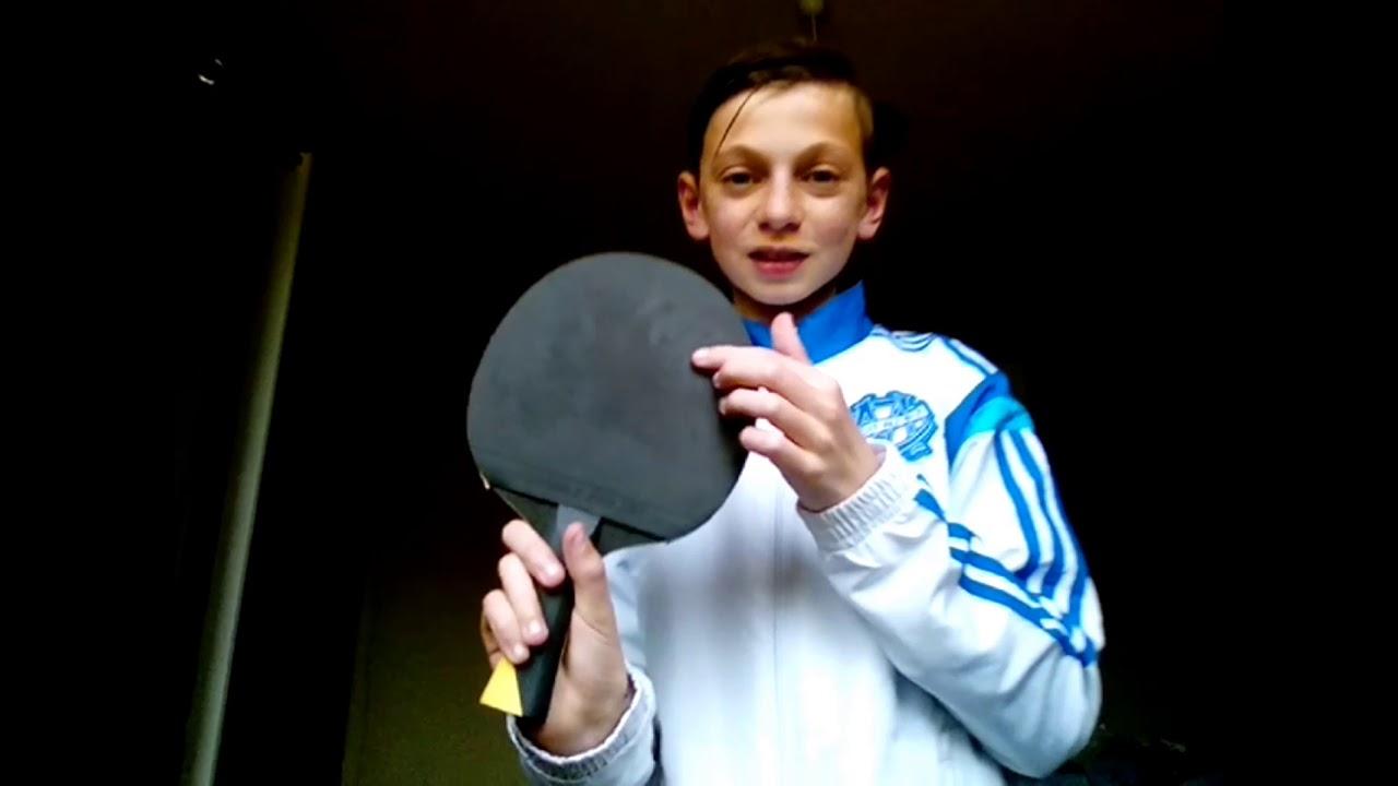 Presentation De Ma Raquette De Tennis De Table Pour Les Competitions
