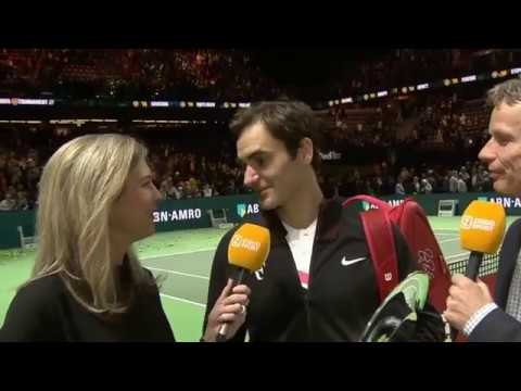 "Roger Federer Interview Rotterdam Final 2018 - ""Saved my best for the last"""