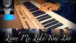 Ellie Goulding - Love Me Like You Do (Fifty Shades Of Grey) Piano Instrumental Cover