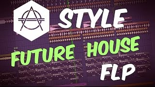 Hexagon Style FUTURE HOUSE FLP   FL Studio Template 30