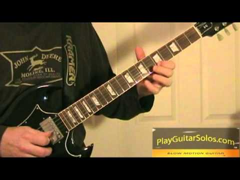 flirting with disaster guitar lesson solo lyrics 1 20