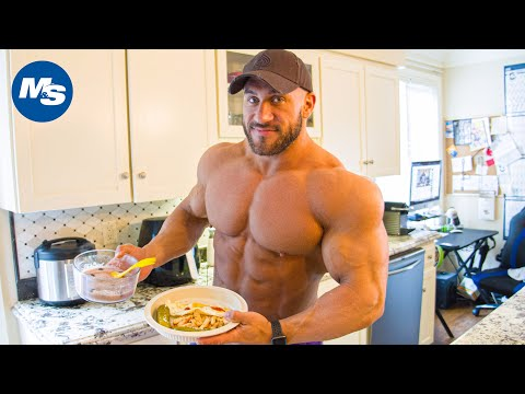 Full Day Of Eating (Contest Prep Edition) | Antoine Vaillant | 3933 Calories