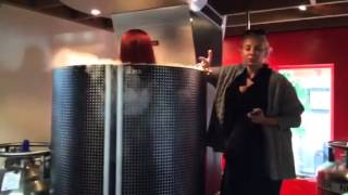 Cris Cyborg Icelab Cryotherapy session Orange County California