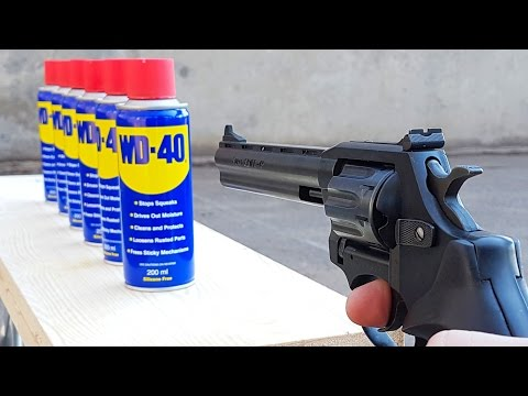 EXPERIMENT GUN vs WD 40 en streaming