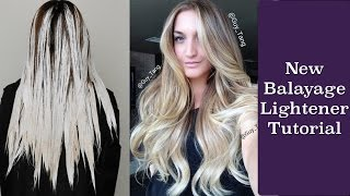 New Balayage Lightener Tutorial
