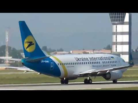 Spotting at International Airport 'Kharkiv'.(Ukraine)