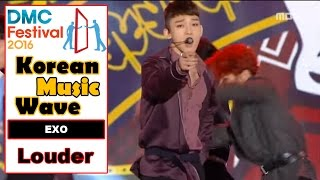 Video [Korean Music Wave] EXO - Louder, 엑소 - Louder 20161009 download MP3, 3GP, MP4, WEBM, AVI, FLV Agustus 2017