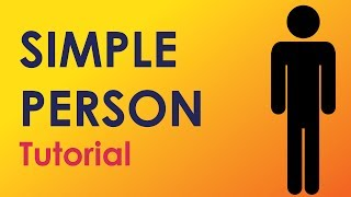 How to Draw a Person Icon: Adobe Illustrator Tutorial
