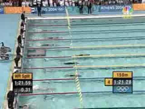 Men's 4x100m Medley Relay Olympics Athens 2004 WR