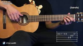 El Unicornio Azul - Silvio Rodriguez Tutorial Guitarra