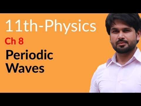 First Year Physics Periodic Waves - Physics Chapter 8 Waves- FSC Part 1