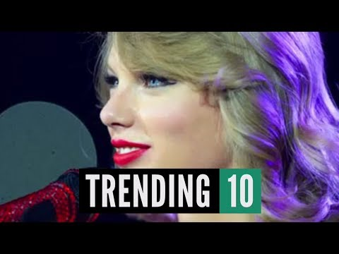 Taylor Swift Bakes Cookies w/ Olympian Gracie Gold - Trending 10 (04/10/14)