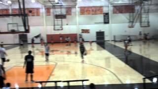 My high school basketball gym