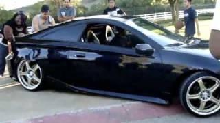 Slammed Celica Gets Stuck!