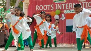 Yauvana's Performance in Group Dance   Jai Ho   Slumdog Millionaire   Roots School   Cuddalore