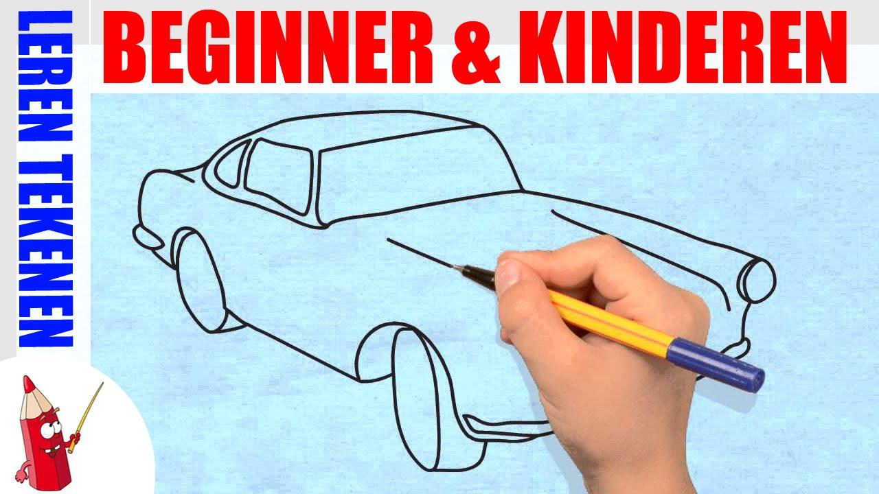 Auto Tekenen 2 In 130s Leren Tekenen Voor Beginners En Kinderen