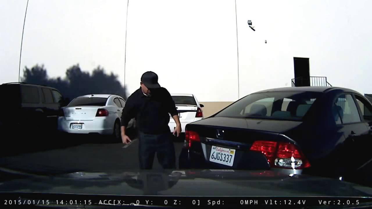 allucam vg 10z dash cam captures very close call in parking lot parking mode youtube. Black Bedroom Furniture Sets. Home Design Ideas