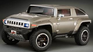 Hummer HX Concept Pictures Videos