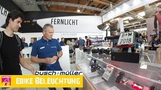 Busch & Müller - Beleuchtung Neuigkeiten für Ebikes | EUROBIKE 2018