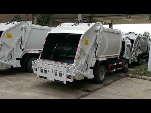 China Best Garbage Compactor Truck Plant--- Chusheng Trucks