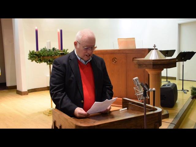 Worship Service December 13th