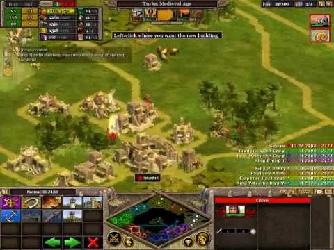 Rise Of Nations Extended Edition - Strategy : Economy Buildup Part 1- Beginner's Guide (Commentry)