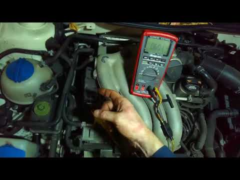 VW A4: 2.0L camshaft position sensor quick check (for signal)