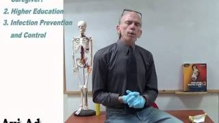 introduction video to health and social care level 3 course infection prevention
