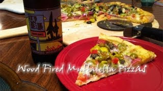 Homemade Wood Fired Muffaletta Pizza Recipe
