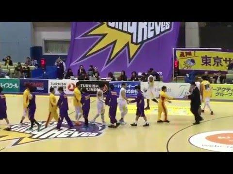 東京サンレーヴス VS  仙台89ers 試合 プロバスケットボール bj-league