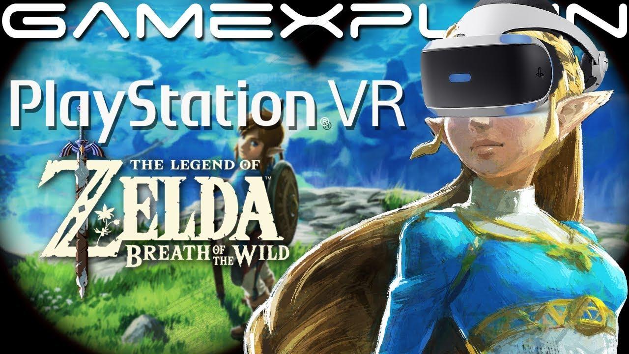 Hands On: Legend Of Zelda: Breath Of The Wild VR Made Us