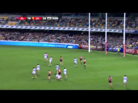 Pearce Hanley vs Gold Coast Round 18 2014