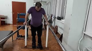 Реабилитация для спиналников в Новокузнецке, обучение ходьбы