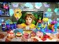 Делаем разные СЛАДОСТИ на ФАБРИКЕ ПИРОЖНЫХ Sweet Shoppe Play Doh mp3