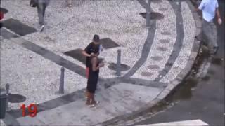 * מפחיד * ילדים ברזילאים שודדים תיירים!!!