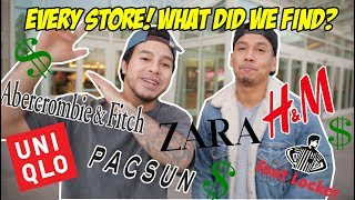 BREAKING DOWN EVERY STORE IN THE MALL! WHAT