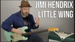 """How to Play """"Little Wing"""" Jimi Hendrix on Guitar"""