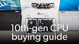 How to pick the best 10th-gen laptop CPU