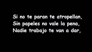 En La Ciudad - Amparanoia (lyrics)