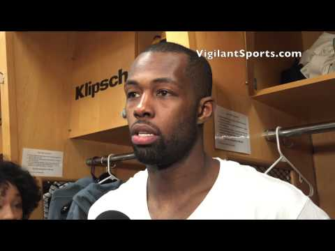 Rodney Stuckey talks after pouring in a season-best 34 points