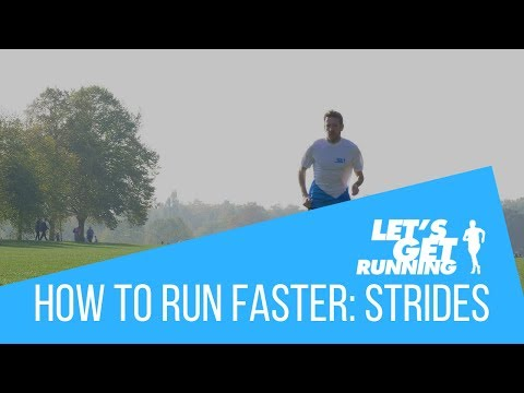 How To Improve Speed. Run Strides