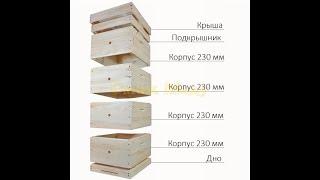 Так сколько рамок надо в гнездовой корпус многокорпусного улья?