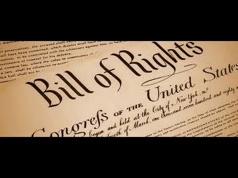 The Bill of Rights-the first 10 Amendments