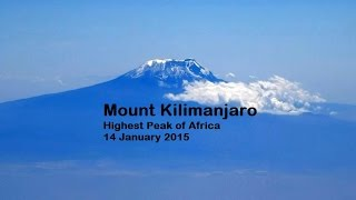 Aerial View of Mount Kilimanjaro
