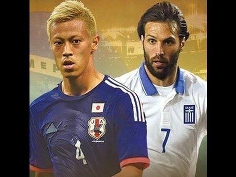 【1分で分かるワールドカップ】 日本 vs ギリシャ Japan vs Greece